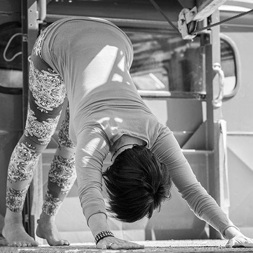 Prüfsiegel der Yoga-Kurse, zertifiziert durch die Zentrale Prüfstelle Prävention
